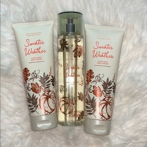 NWT Bath and Body Works Set